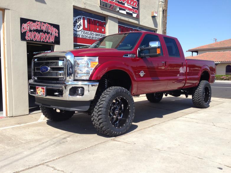 2014 F250, 7″ lift, 37″ tires, 22″ wheels | Extreme Motorsports