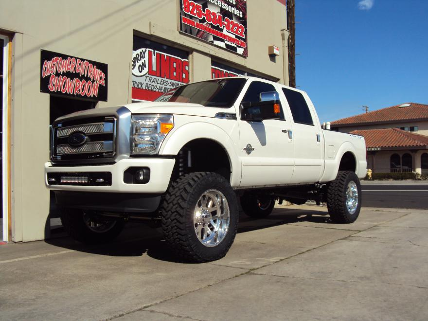 2014 Ford F250 8 Fabtech 40 Dirt Logic 37s 22s