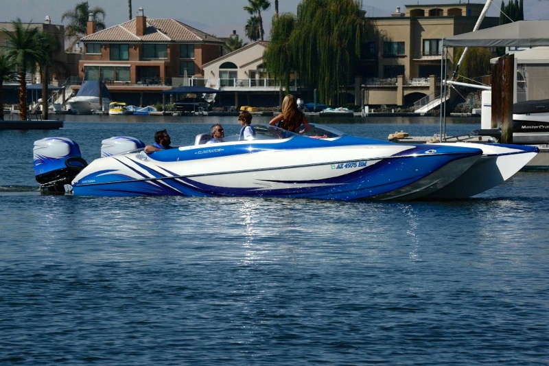 2008 Eliminator 27′ Daytona twin 300XS Opti\'s, 100+mph | Extreme ...