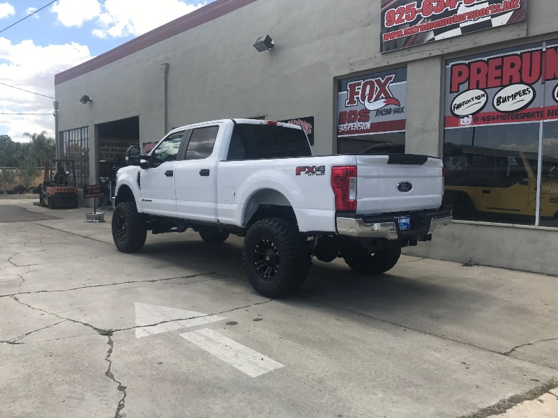 Lifted Ford F250 >> 2017 Ford F250, 6″ lift, 37's, 18's | Extreme Motorsports